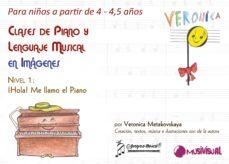 clases de piano y lenguaje musical en imágenes para niños de 4 a 4,5 años. nivel 1 (ebook)-veronica metakovskaya-9788415408093