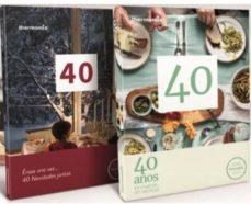 Descargar libros electrónicos italianos gratis PACK 40 AÑOS INNOVANDO EN RECETAS Y CELEBRANDO NAVIDADES JUNTOS THERMOMIX CUMPLE 40 AÑOS EN ESPAÑA (Literatura española) MOBI