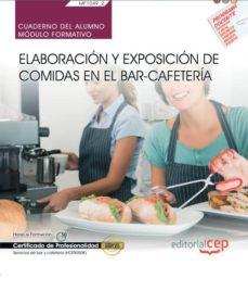 Lofficielhommes.es (Mf1049_2) Cuaderno Del Alumno. Elaboración Y Exposición De Comid As En El Bar-cafetería. Certificado De Profesionalidad Image