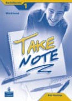 Trailab.it Take Note 1. Workbook (+ Cd) (Bachillerato) Image