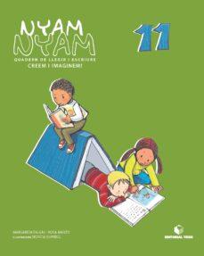 Trailab.it Nyam-nyam Quadern 11 Llegir Escriure Infantil Catala Image