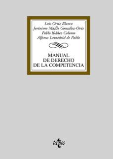 Inmaswan.es Manual Derecho De La Competencia Image