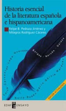 Premioinnovacionsanitaria.es Historia Esencial De La Literatura Española E Hispanoamericana Image