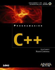Descargar PROGRAMACION C++ gratis pdf - leer online