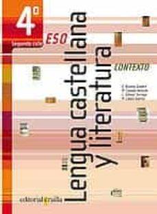 Valentifaineros20015.es Contexto Lengua Castellana Y Literatura 4º (Eso) Image