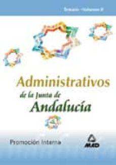 Iguanabus.es Administrativo De La Junta De Andalucia. Temario. Promocion Inter Na. (Vol. Ii) Image