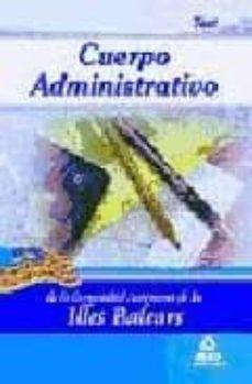 Emprende2020.es Cuerpo Administrativo De La Comunidad Autonoma De Las Illes Balea Rs. Test Image