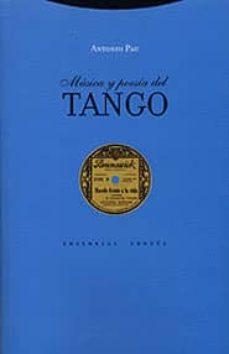 musica y poesia del tango-antonio pau pedron-9788481644593