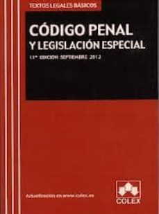Relaismarechiaro.it Codigo Penal Y Legislacion Especial (11ª Ed.) Image