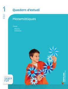 Lofficielhommes.es Quadern Estudio Matemàtiques 1º Secundariacatala Ed 2015 Image