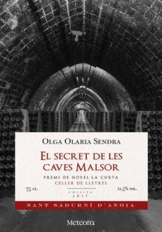 Descarga de libros de texto en pdf EL SECRET DE LES CAVES MALSOR (Spanish Edition)