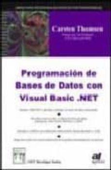 Vinisenzatrucco.it Programacion De Bases De Datos Con Visual Basic. Net Image