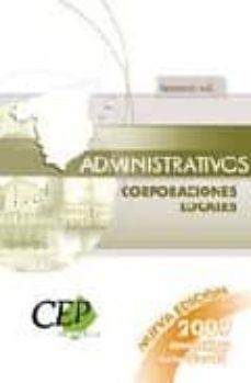 Padella.mx Administrativos De Corporaciones Locales. Temario Volumen I Image