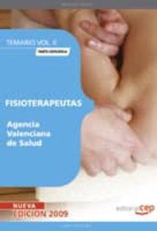 Cronouno.es Fisioterapeutas Agencia Valenciana De Salud. Parte Especifica.tem Ario Vol. Ii Image