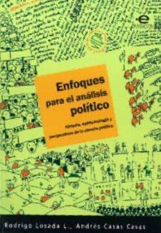Permacultivo.es Enfoques Para El Analisis Politico: Historia, Epistemologia Y Per Spectivas De La Ciencia Politica Image