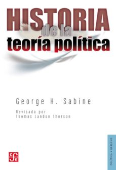 historia de la teoria politica-george h. sabine-9789681641993