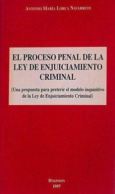 Inmaswan.es El Proceso Penal De La Ley De Enjuiciamiento Criminal Image