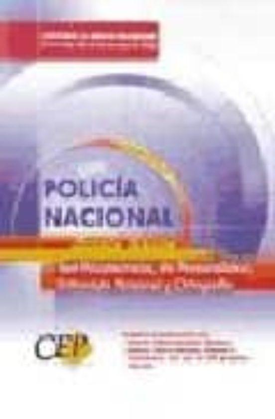 POLICIA NACIONAL: ESCALA BASICA: TEST DE PERSONALIDAD, ENTREVISTA PERSONAL Y ORTOGRAFIA