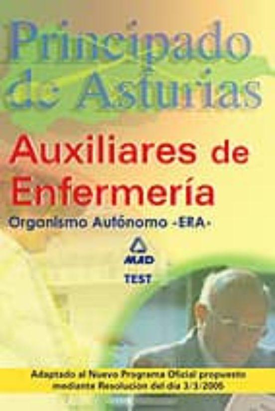 AUXILIARES DE ENFERMERIA (ERA) DEL PRINCIPADO DE ASTURIAS: TEST