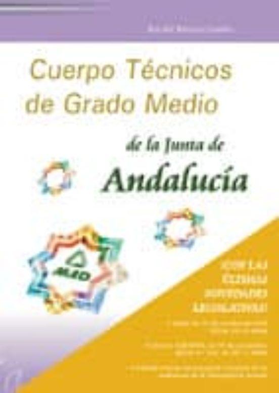 CUERPO TECNICOS DE GRADO MEDIO DE LA JUNTA DE ANDALUCIA: TEST COM UN