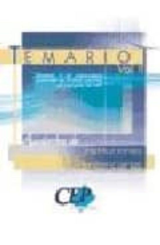 AYUDANTES DE INSTITUCIONES PENITENCIARIAS: TEMARIO (VOL. II)