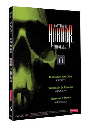 masters of horror: temporada ii. volumen iii-8420172052218