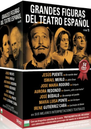 pack grandes figuras del teatro español-8436022297197