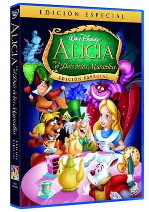 alicia en el país de las maravillas (disney) (dvd)-8717418256050