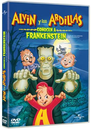 alvin y las ardillas conocen a frankenstein-5050582773705