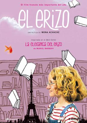 el erizo  (dvd)-8436027577478