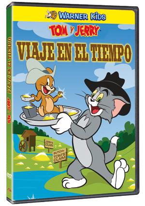 tom y jerry: viaje en el tiempo (dvd)-5051893033281