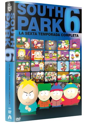 south park: la sexta temporada completa (dvd)-8414906701572