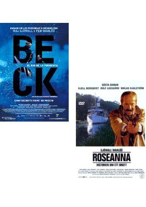 pack beck: el ojo de la tormenta + roseanna (dvd)-8436535540445