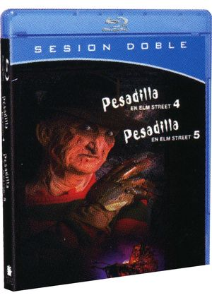pesadilla en elm street 4 + 5: sesion doble (blu-ray)-5051893068146