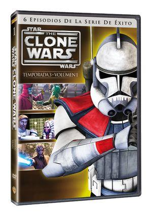 star wars: the clone wars - tercera temporada vol. 1 (dvd)-5051893064643