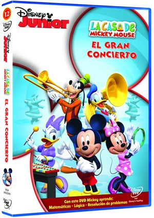 la casa de mickey mouse: vol. 12 gran concierto (dvd)-8717418334147