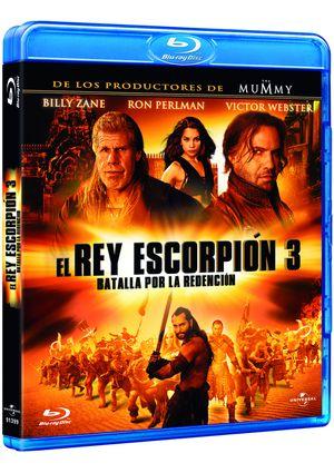 el rey escorpion 3: batalla por la redencion (blu-ray)-8414906913999