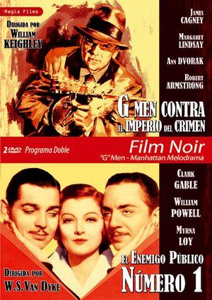 programa doble film noir g men - manhattan melodrama (g men contr-8436037888984