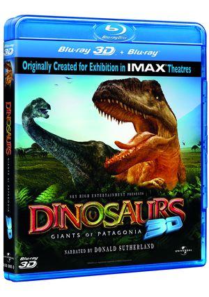 dinosaurios de la patagonia (combo blu-ray 3d + 2d)-8414906923806