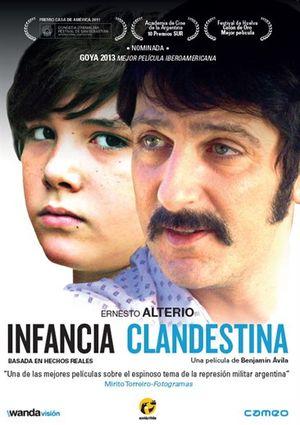 infancia clandestina (dvd)-8436540902894