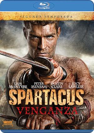 spartacus: venganza - 2 temporada (blu-ray)-8420266967640
