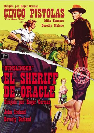 pack cinco pistolas - el sheriff de oracle (dvd)-8436541005259