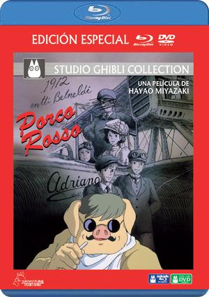 porco rosso (blu-ray+dvd)-8435175964734
