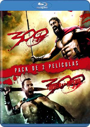 pack 300 + 300 el origen de un imperio: ed.limitada (blu-ray)-5051893185126