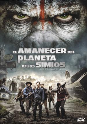 el amanecer del planeta de los simios (dvd)-8420266971081
