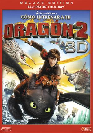 como entrenar a tu dragon 2 (blu-ray 3d)-8420266971036