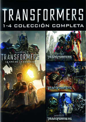 transformers: complete collection pack 1-4 (dvd)-8414906209368