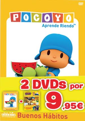 pack pocoyo buenos habitos + la hora de timmy 2 (dvd)-8420266973849