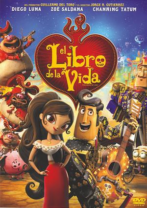 el libro de la vida (dvd)-8420266974198