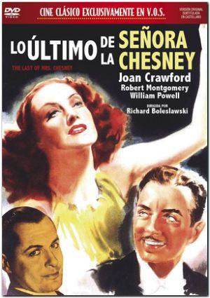 lo ultimo de la señora chesney (vos) (dvd)-8436558191013